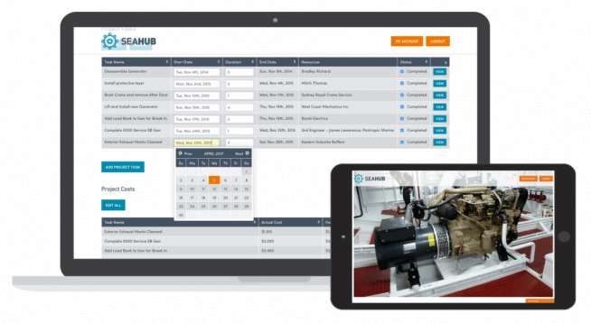 Seahub - Yacht Maintenance Software Manage vessel related projects using our Project management platform