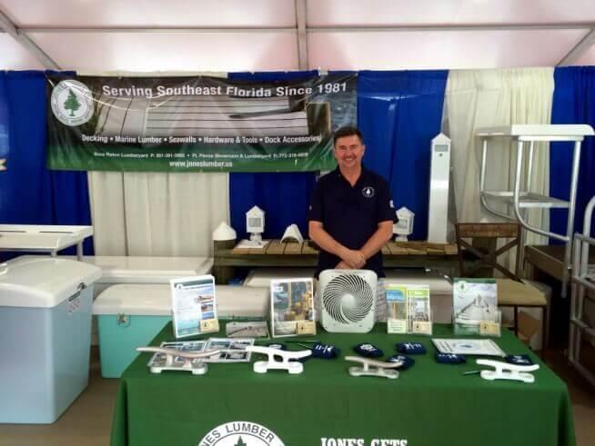 Jones Lumber - Marine Division  Palm Beach Int'l Boat Show 2016