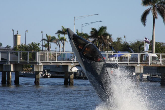 SeaBreacher - The Ultimate Diving Machine Seabreacher dolphin doing a jump/dive