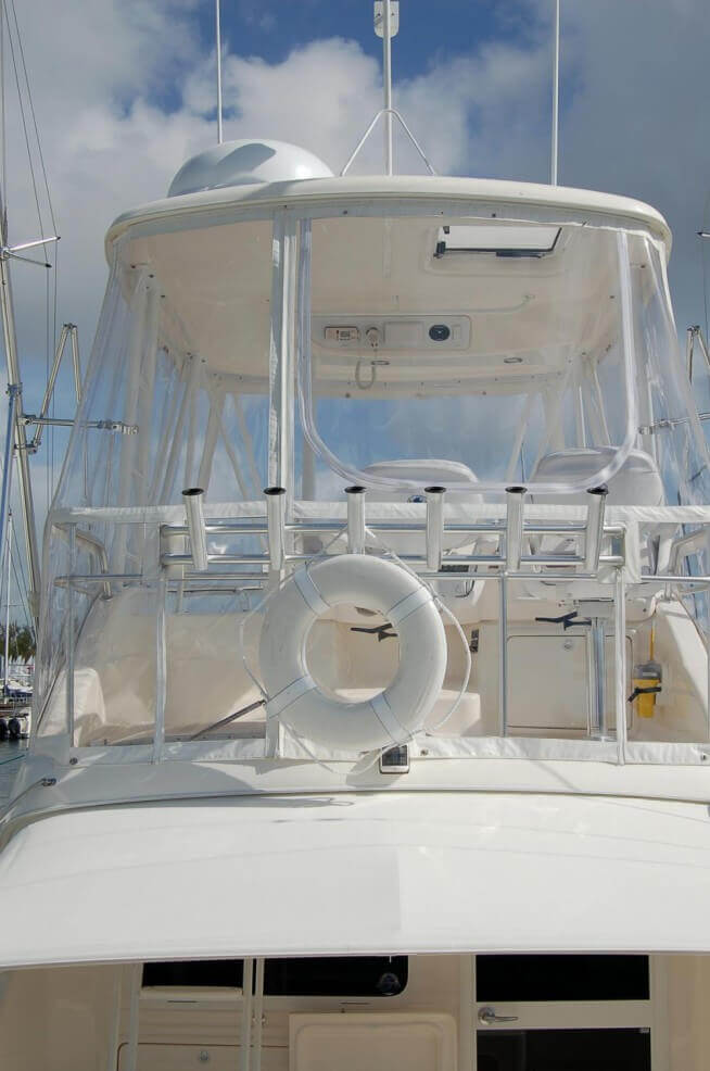AmericanMarine Canvas and Upholstery ENCLOSURES
