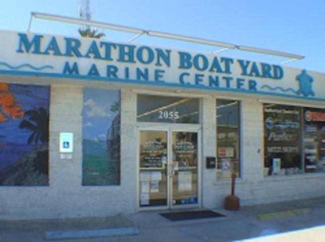 Marathon Boat Yard Marine Center Marine Center Office